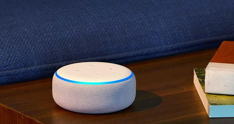 Гаджет Echo Dot для сна