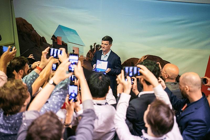 Новый Lenovo на конференции