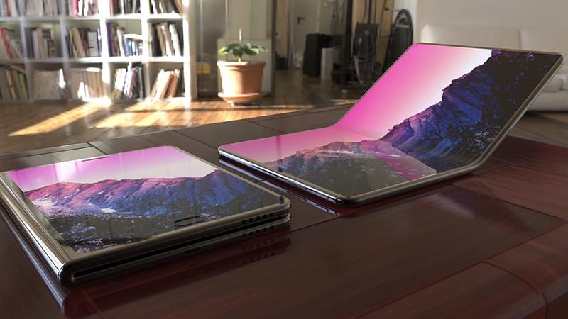 Планшет Samsung со складным дисплеем