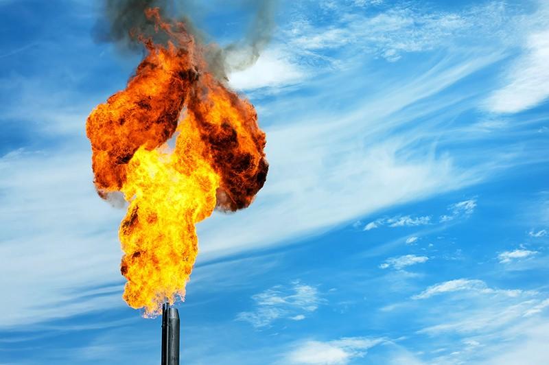 Выброс метана в атмосферу