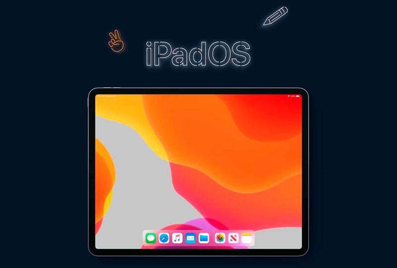 iPadOS иллюстрация