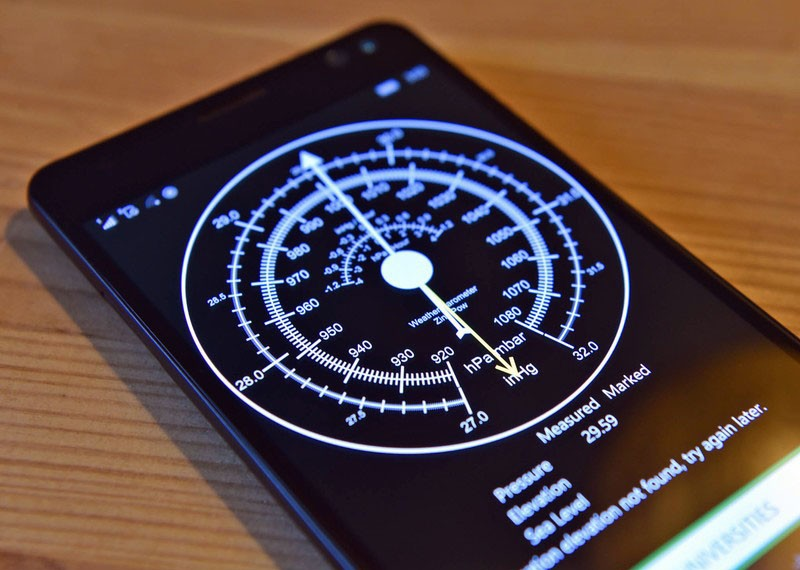 Встроенный барометр на Xiaomi