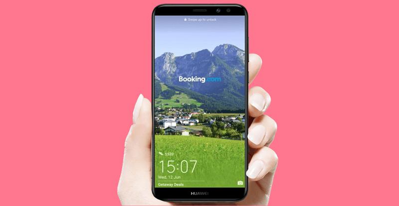 Huawei реклама на экране