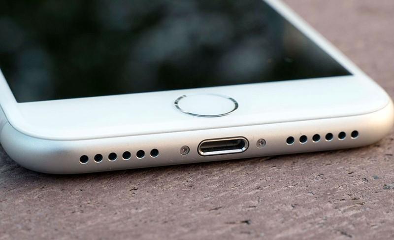 iPhone 8 нижняя часть фото
