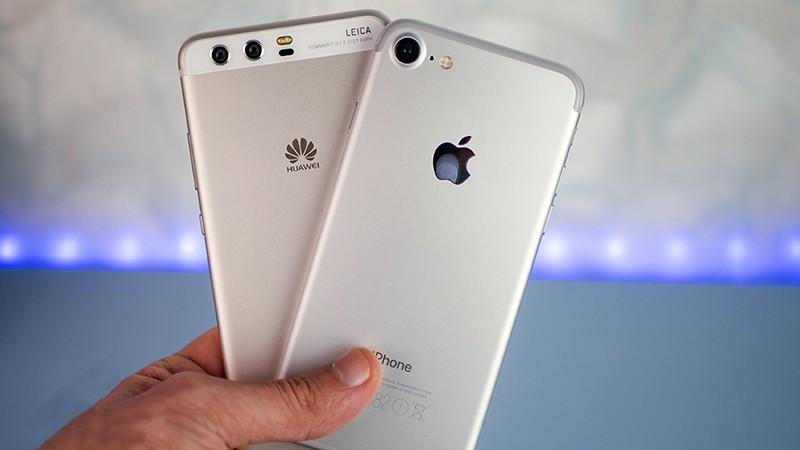Iphone и Huawei