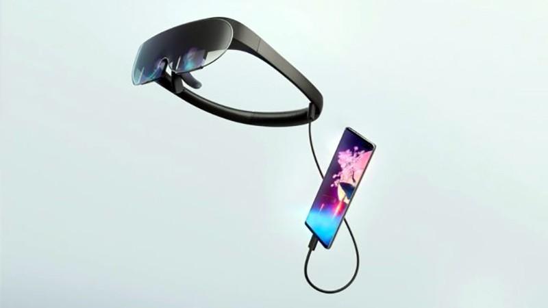 Rokid Vision подключена к смартфону