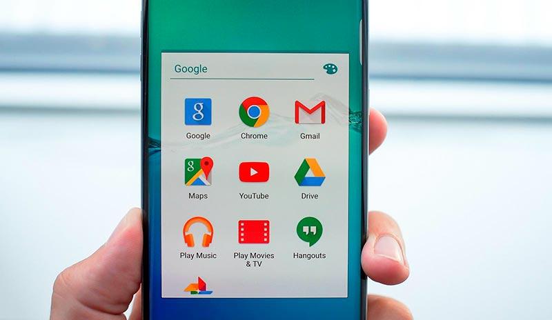 приложения Google на телефоне