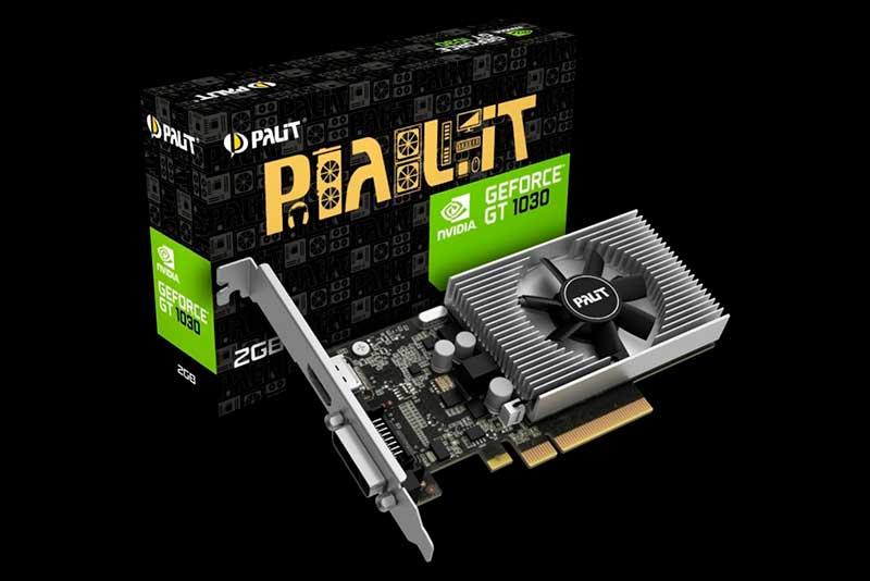 Nvidia GeForce GT 1030 фото