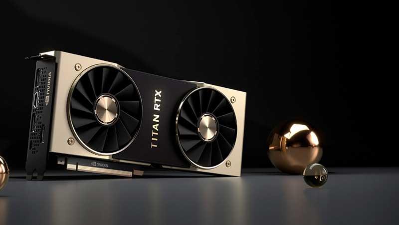 Nvidia Titan RTX фото