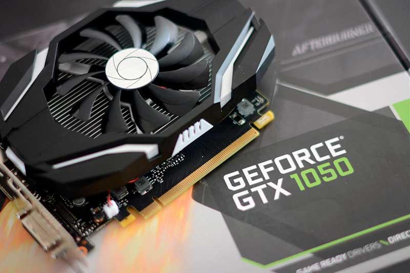 Nvidia GeForce GTX 1050 фото