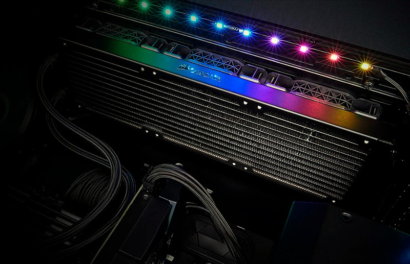 Кулер Corsair в компьютере