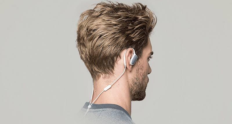 Xiaomi Sport в ушах