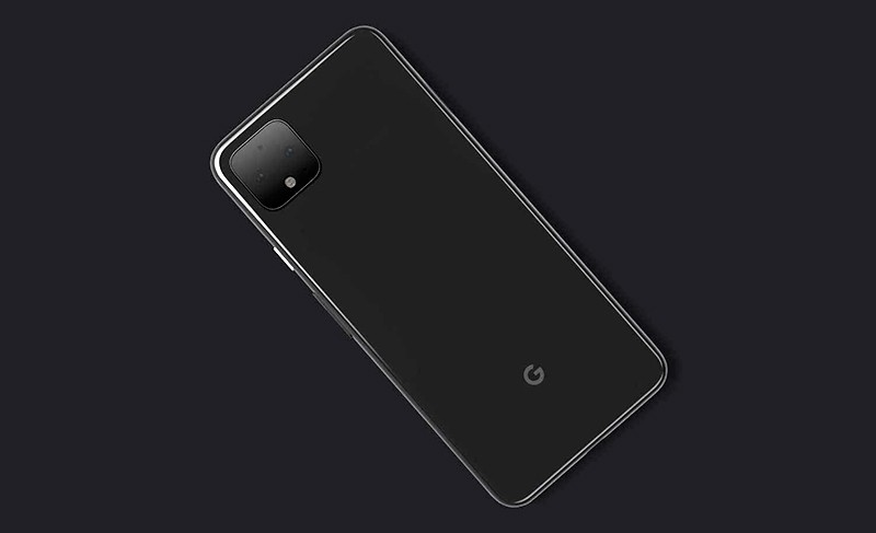 Googlt Pixel 4 сзади