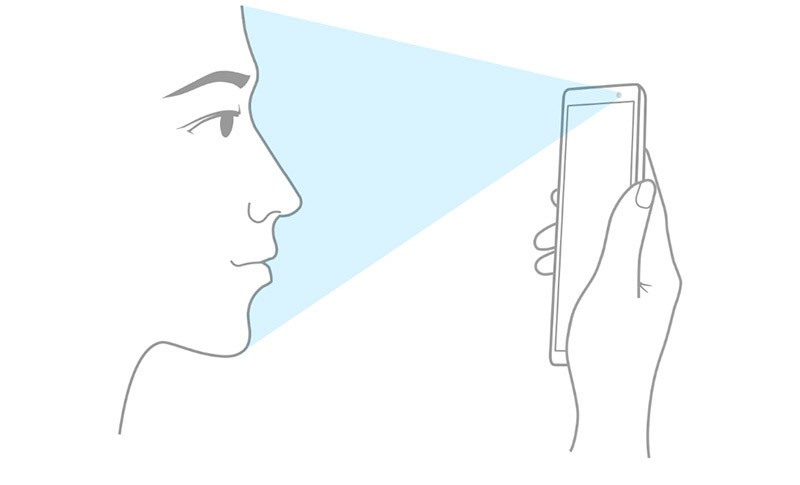 Разблокировка телефона лицом
