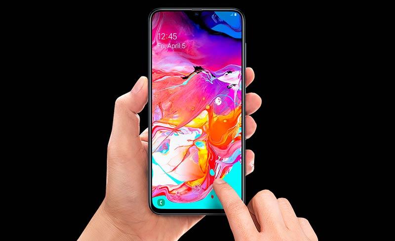 Дисплей Galaxy A70
