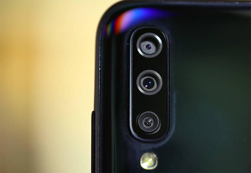 Камера Galaxy A70