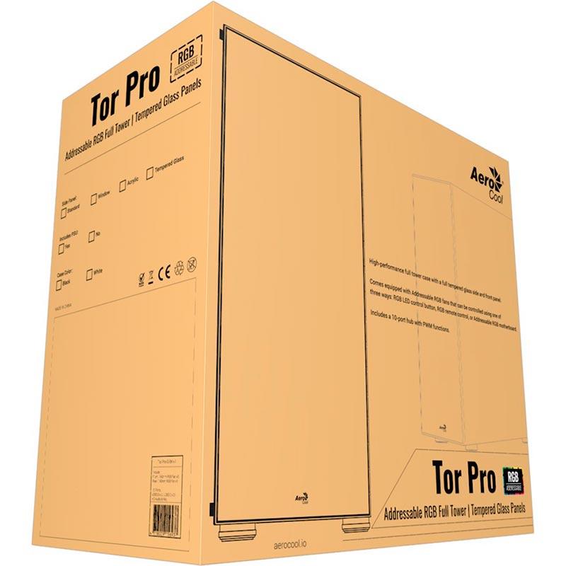 Коробка от корпуса AeroCool