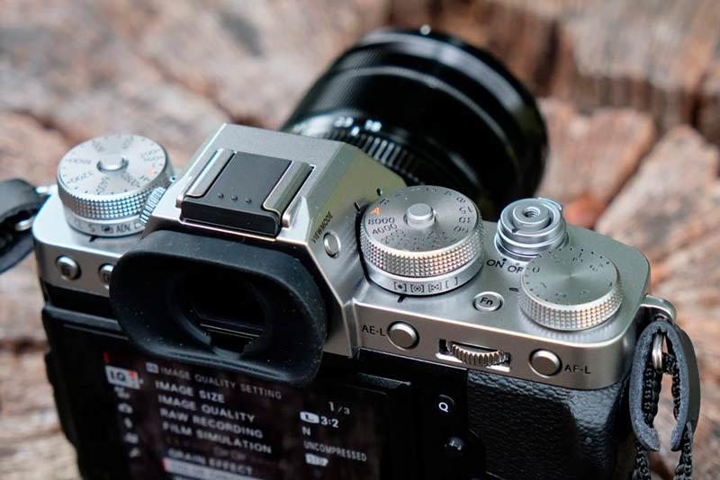 Вид сверху Fujifilm X-T3