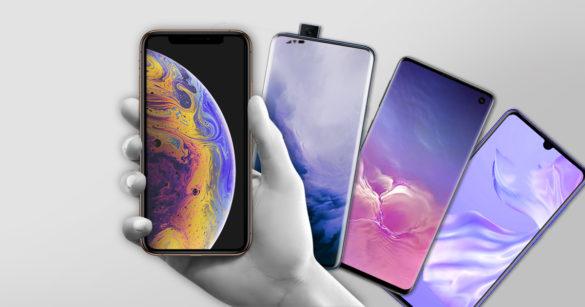 Сравниваем 4 главные новинки 2019 от OnePlus, iPhone, Samsung и Huawei
