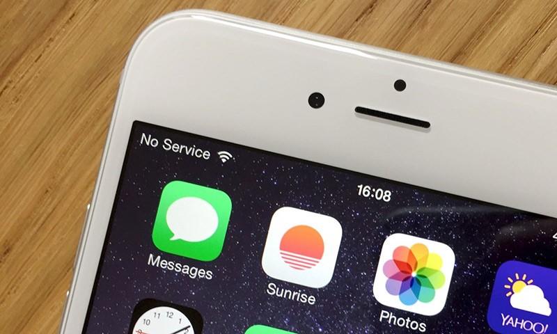 Нет сети на Iphone