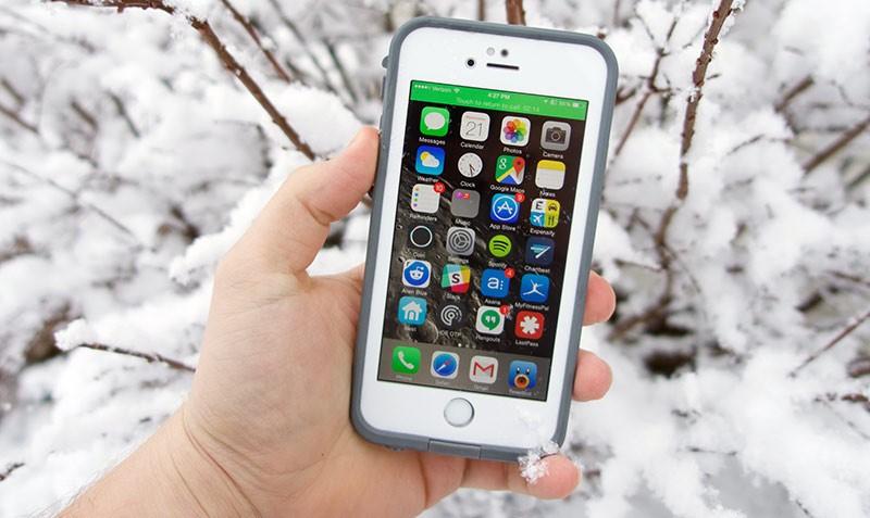 Iphone на холоде