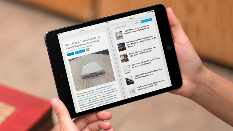 двойной экран на iPad