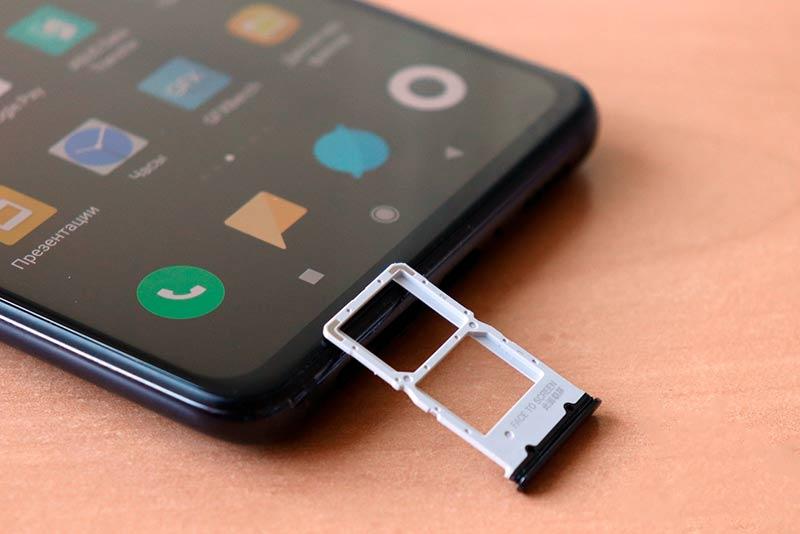 слот для двух NanoSIM