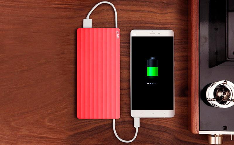 Xiaomi заряжается от Power Bank