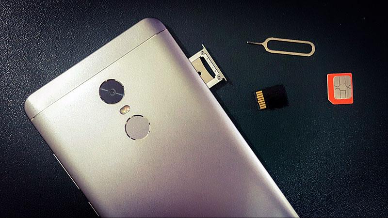 Замена сим карты на Xiaomi