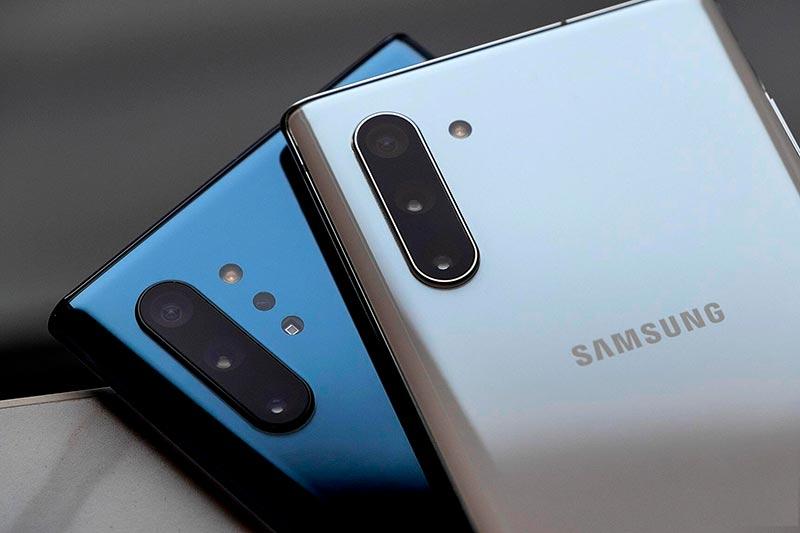 Основные камеры на Samsung