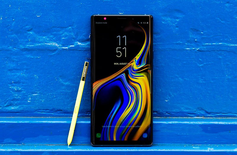 Samsung Galaxy Note 9 фото