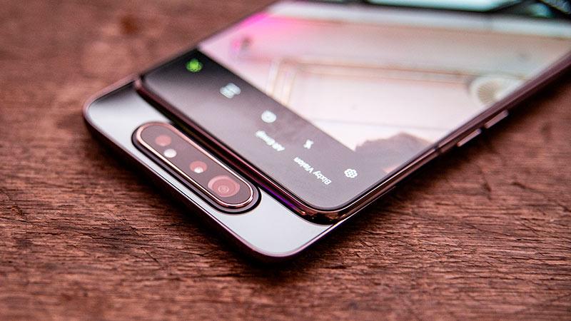 Фронтальная камера Galaxy A80