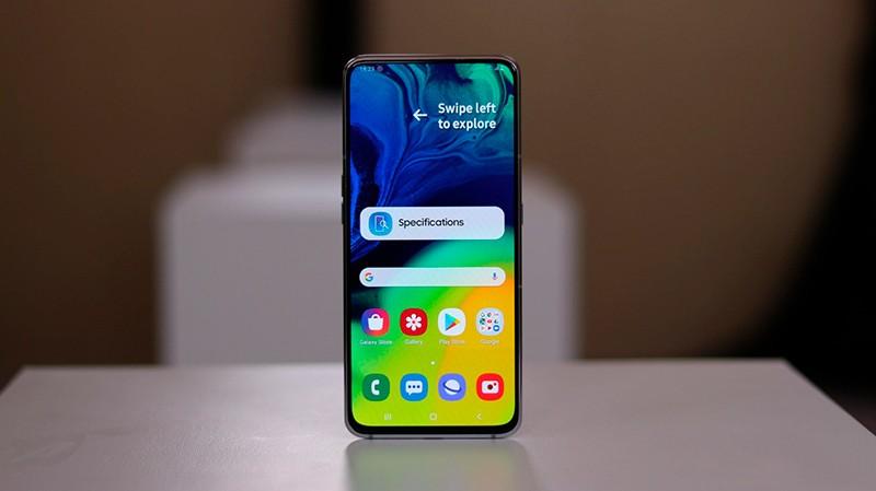 Внешний вид Galaxy A80