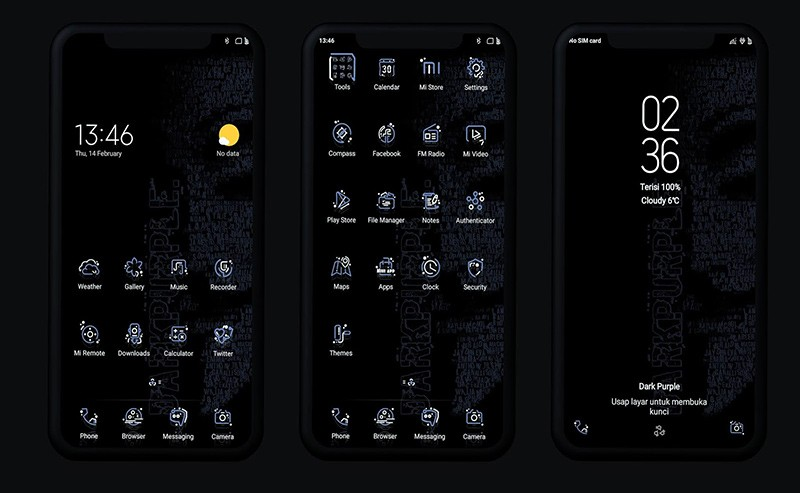 Темная тема на смартфоне