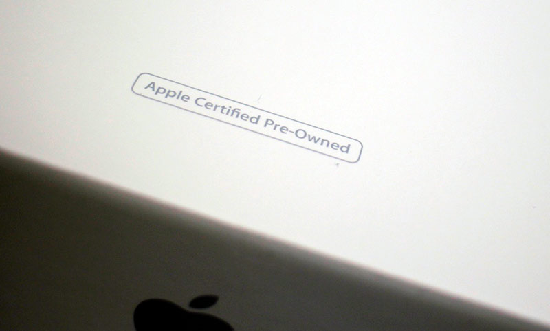 Метка «CPO» на коробке