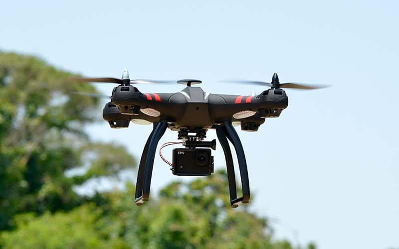 Камера на дроне