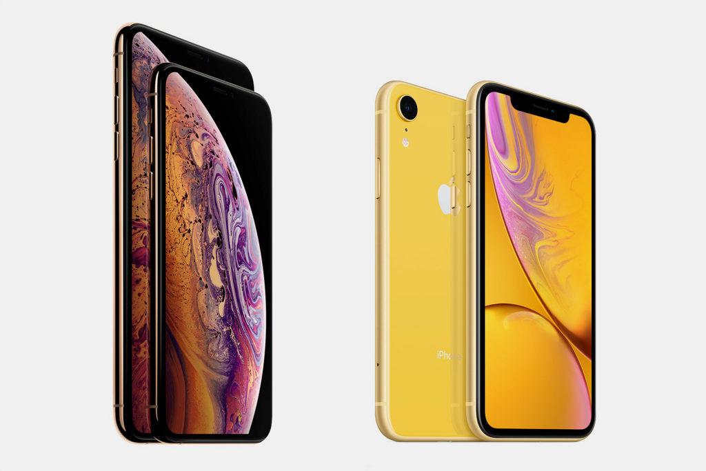 iPhone XR и XS фото