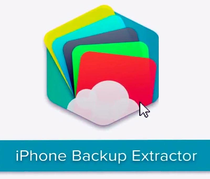 Приложение iBackup Extractor