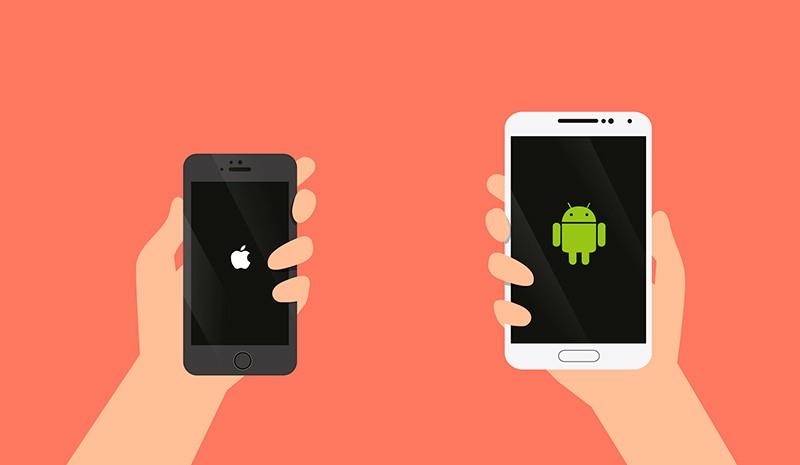 Телефоны iPhone и Андроид