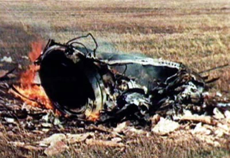 Обломки коробля «Cоюз-1»
