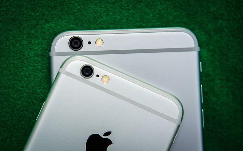 Камеры iPhone 6 и 6S