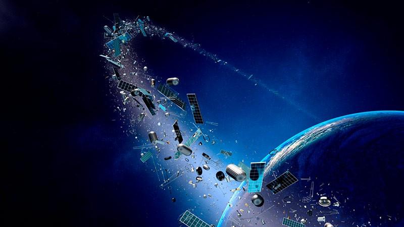 Сколько мусора присутствует в космосе в настоящее время
