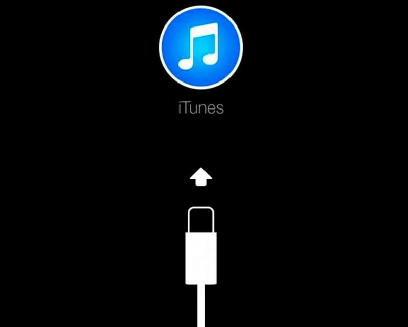 айфон просит подключиться к iTunes