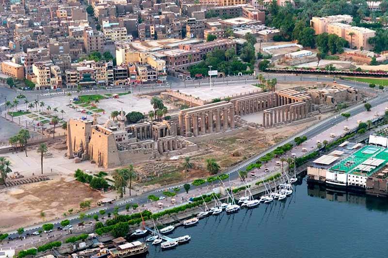 Луксор, Египет фото