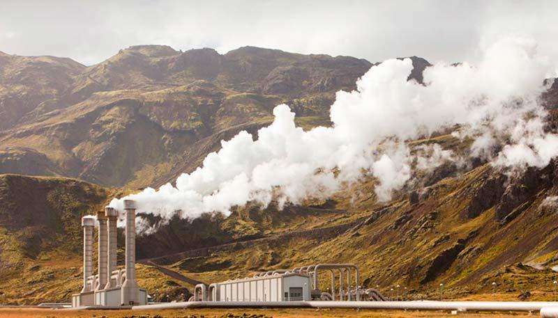 Геотермальная станция фото