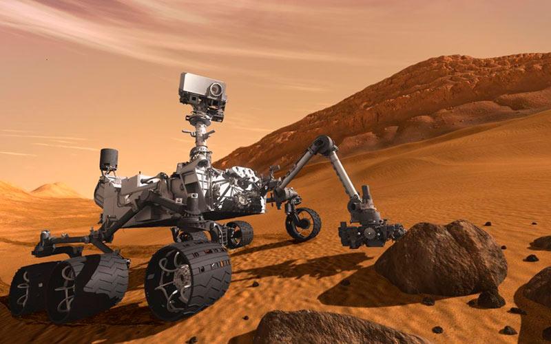 Космический аппарат Curiosity
