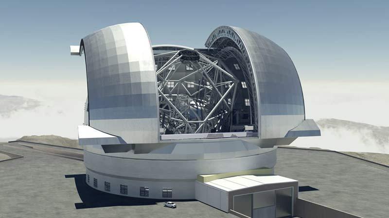 Чрезвычайно большой телескоп фото