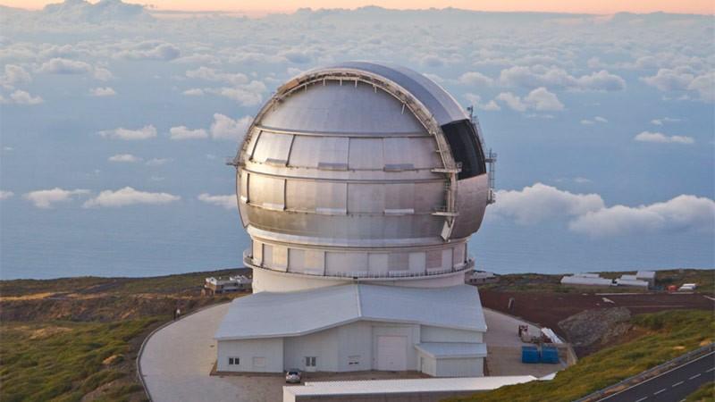 Большой Канарский телескоп фото