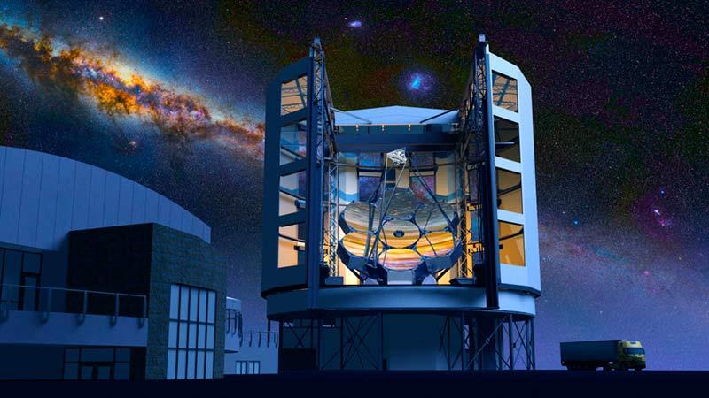 Гигантский Магелланов телескоп фото