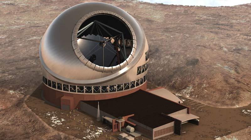 Тридцатиметровый телескоп фото